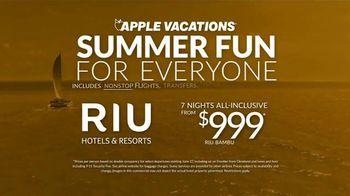 Apple Vacations TV Spot, 'Summer Fun: RIU Hotels & Resorts' - Thumbnail 8