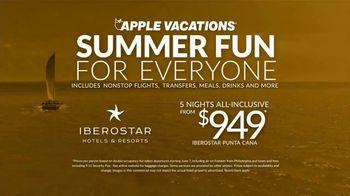 Apple Vacations TV Spot, 'Summer Fun: Iberostar' - Thumbnail 9