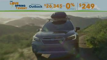 Subaru Love Spring Event TV Spot, 'Great Deal: 2019 Outback' [T2] - Thumbnail 1
