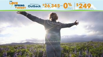 Subaru Love Spring Event TV Spot, 'Great Deal: 2019 Outback' [T2] - Thumbnail 6