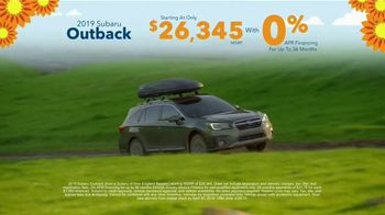 Subaru Love Spring Event TV Spot, 'Great Deal: 2019 Outback' [T2] - Thumbnail 8
