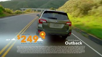 Subaru Love Spring Event TV Spot, 'Great Deal: 2019 Outback' [T2] - Thumbnail 9