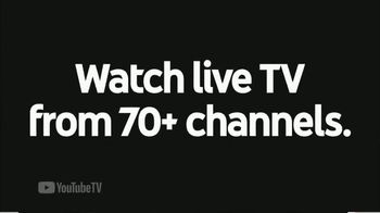 YouTube TV TV Spot, 'Watch Live TV' - Thumbnail 1