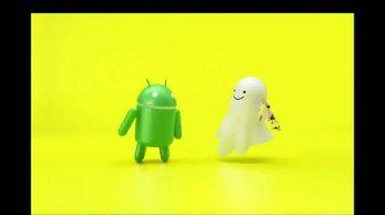 Snapchat TV Spot, 'To Android. Love, Snapchat.' - Thumbnail 1