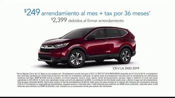 Honda Evento de Primavera el Garaje de Tus Sueños TV Spot, 'EMT Tuition' [Spanish] [T2] - Thumbnail 7