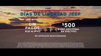 Días de Libertad Jeep TV Spot, 'Los SUV más premiados' canción de The Kills [Spanish] [T2] - Thumbnail 6