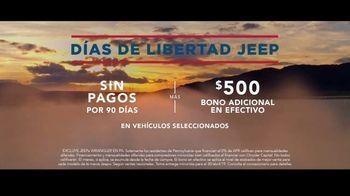 Días de Libertad Jeep TV Spot, 'Los SUV más premiados' canción de The Kills [Spanish] [T2] - Thumbnail 7