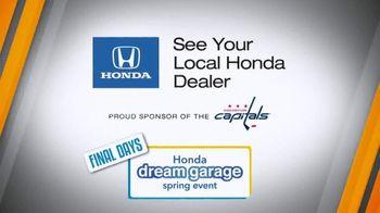 Honda Dream Garage Spring Event TV Spot, 'Final Days: Sedans' [T2] - Thumbnail 10