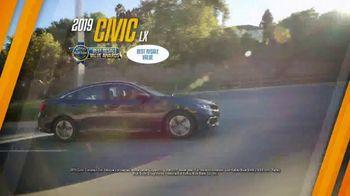 Honda Dream Garage Spring Event TV Spot, 'Final Days: Sedans' [T2] - Thumbnail 5