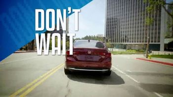 Honda Dream Garage Spring Event TV Spot, 'Final Days: Sedans' [T2] - Thumbnail 9