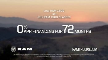 Ram Spring Sales Event TV Spot, 'Lead or Be Led: Capability' Song by A Thousand Horses [T2] - Thumbnail 9
