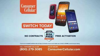 Consumer Cellular TV Spot, 'Customer Reviews: Plans $15+ a Month' - Thumbnail 7