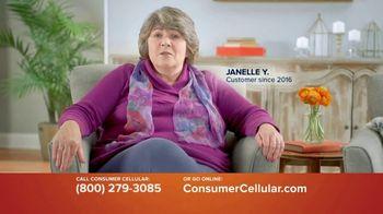 Consumer Cellular TV Spot, 'Customer Reviews: Plans $15+ a Month' - Thumbnail 1