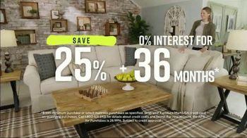 Ashley HomeStore Spring Home Event TV Spot, 'Full Bloom: Kempten Sofa and Loveseat' - Thumbnail 4