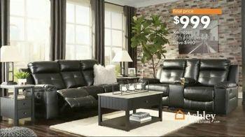 Ashley HomeStore Spring Home Event TV Spot, 'Full Bloom: Kempten Sofa and Loveseat' - Thumbnail 6