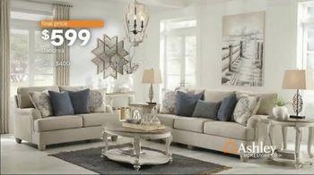 Ashley HomeStore Spring Home Event TV Spot, 'Full Bloom: Kempten Sofa and Loveseat' - Thumbnail 7