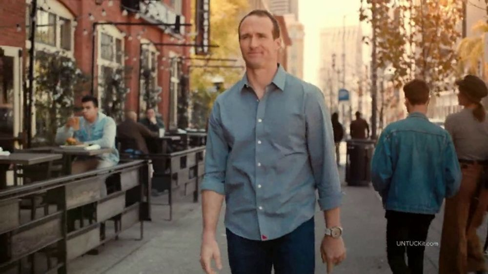 UNTUCKit TV Commercial, 'The Right Call' Featuring Drew Brees