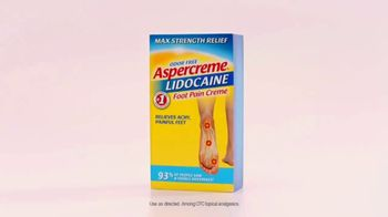 Aspercreme With Lidocaine Foot Pain Creme TV Spot, 'Jump in Feet First' - Thumbnail 4