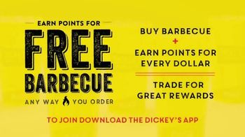 Dickey's BBQ Big Yellow Cup Rewards TV Spot, 'Your Points Add Up' - Thumbnail 2
