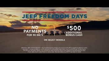 Jeep Freedom Days TV Spot, 'Most Awarded SUV' Song by The Kills [T2] - Thumbnail 7