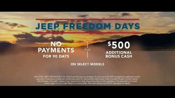 Jeep Freedom Days TV Spot, 'Most Awarded SUV' Song by The Kills [T2] - Thumbnail 8