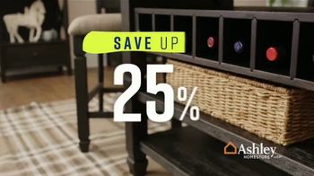 Ashley HomeStore Spring Home Event TV Spot, 'One Final Week: Tyler Creek Table' Song by Midnight Riot - Thumbnail 4