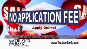 Trustco Bank Mortgage Sale TV Spot, 'No Application Fees' - Thumbnail 3