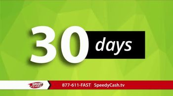 Speedy Cash Express Title Loans TV Spot, 'No Payments for 30 Days' - Thumbnail 4