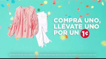 JCPenney Venta de Aniversario TV Spot, 'Celebración de una vez al año' [Spanish] - Thumbnail 4