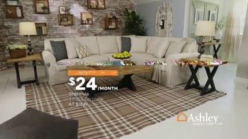 Ashley HomeStore Spring Home Event TV Spot, 'Sectionals and Outdoor Furniture' - Thumbnail 5