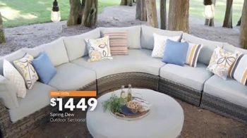 Ashley HomeStore Spring Home Event TV Spot, 'Sectionals and Outdoor Furniture' - Thumbnail 8