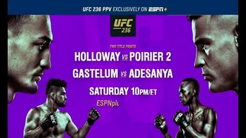 ESPN+ TV Spot, 'UFC 236: Holloway vs. Poirier' - Thumbnail 10
