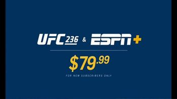 ESPN+ TV Spot, 'UFC 236: Holloway vs. Poirier' - Thumbnail 6