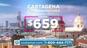 Costamar Travel TV Spot, 'Cartagena, Madrid, París, México, Argentina y República Domincana' [Spanish]