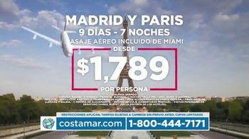 Costamar Travel TV Spot, 'Cartagena, Madrid, París, México, Argentina y República Domincana' [Spanish] - Thumbnail 3
