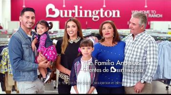 Burlington TV Spot, 'La familia Andaluz va a Burlington para encontrar mas de lo que les gusta' [Spanish]