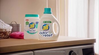 All Free Clear Odor Relief TV Spot, 'La primera vez' [Spanish] - Thumbnail 5