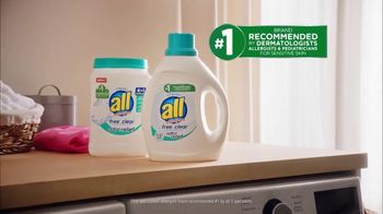 All Free Clear Odor Relief TV Spot, 'La primera vez' [Spanish] - Thumbnail 6