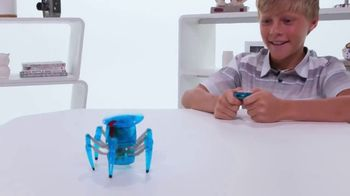 Hexbug Micro Robotic Creatures TV Spot, 'Fire Ant, Beetle, Spider & Scarab' - Thumbnail 6