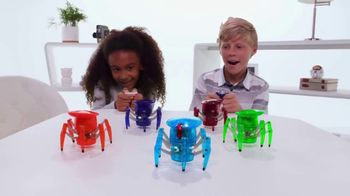 Hexbug Micro Robotic Creatures TV Spot, 'Fire Ant, Beetle, Spider & Scarab'