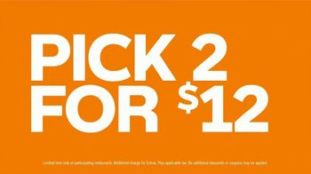 Subway Pick 2 for $12 TV Spot, 'Better in Twos' - Thumbnail 8