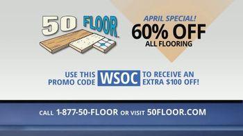 50 Floor TV Spot, 'April Special' - Thumbnail 10