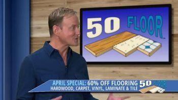 50 Floor TV Spot, 'April Special' - Thumbnail 3