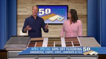 50 Floor TV Spot, 'April Special' - Thumbnail 6
