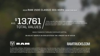 Ram Trucks Spring Sales Event TV Spot, 'All Powerful' Song by A Thousand Horses [T2] - Thumbnail 8