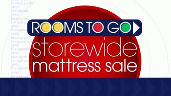Rooms to Go Storewide Mattress Sale TV Spot, 'Beautyrest' - Thumbnail 1