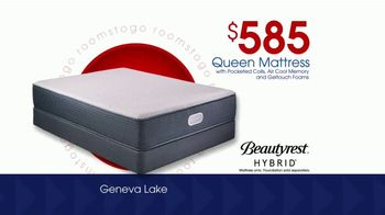 Rooms to Go Storewide Mattress Sale TV Spot, 'Beautyrest' - Thumbnail 3