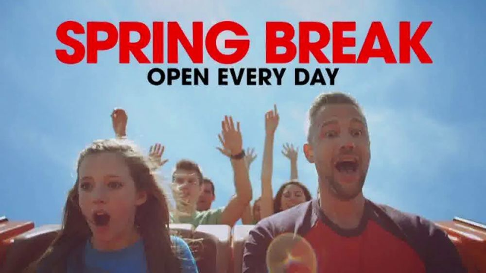 Six Flags Season Pass Sale TV Commercial, 'Spring Break: 65 Percent'
