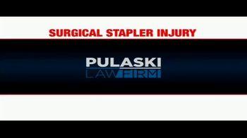 Pulaski Law Firm TV Spot, 'Surgical Stapler Injury' - Thumbnail 1