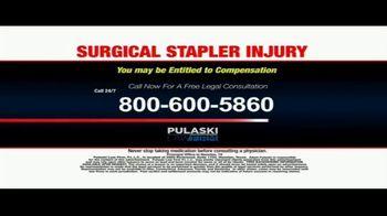 Pulaski Law Firm TV Spot, 'Surgical Stapler Injury' - Thumbnail 10